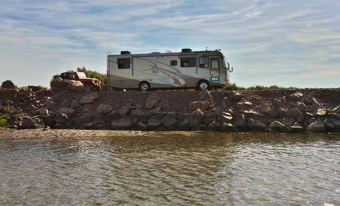 Our office on the Colorado River